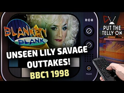 Blankety Blank | Unseen Lily Savage Outtakes! Part 1 of 2 Episode 2 | BBC Rx 1998