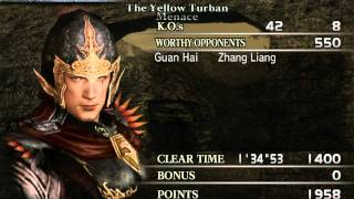 Dynasty Warriors 4 Zhou Tai (Wu) Hard [pt1] Yellow Turbans [HD]