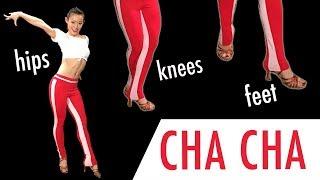 Basic CHA CHA Step - Back Chasse/ Locks Dance tutorial  | Footwork Friday (Ep 15)