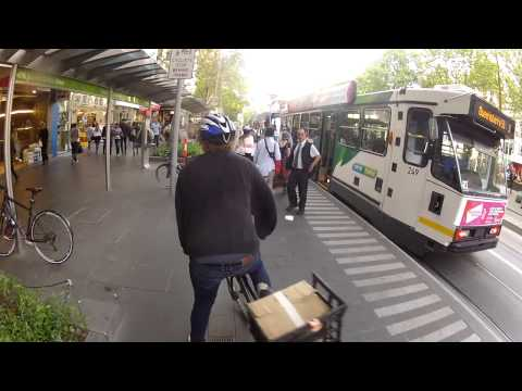 Cycling In Melbourne CBD