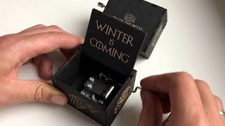 Музыкальная шкатулка Game of Thrones от EnjoyTheWood