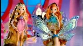 2006 Winx Club Season 3 Mattel Enchantix Glam Magic Dolls Commercial (Espanol/Latino)
