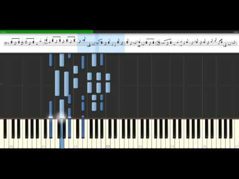Beyonce - Irreplaceable [Piano Tutorial] Synthesia
