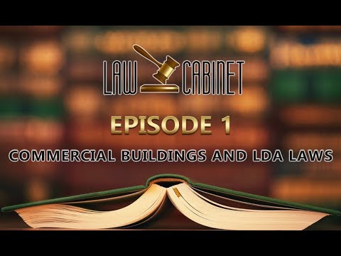 Law Cabinet - First Program - Commercial Buildings and LDA Laws