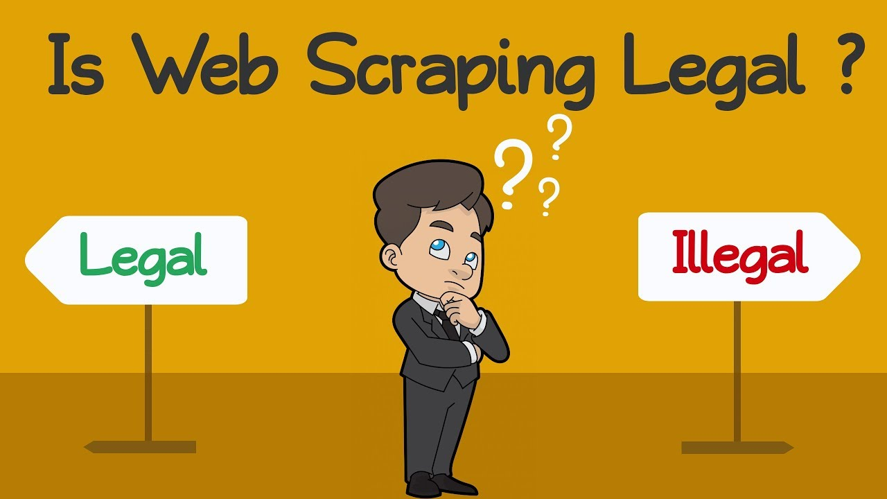 Is Web Scraping Legal? - YouTube