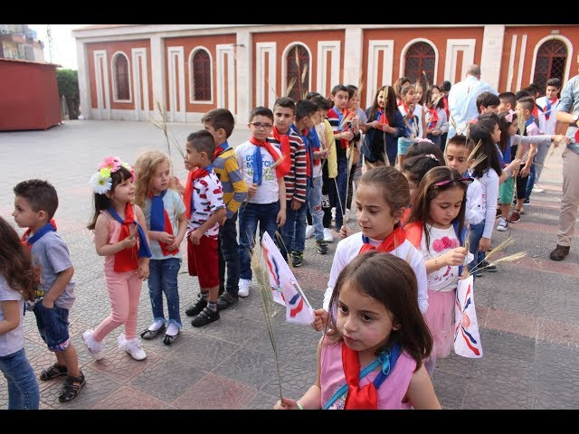 Assyrian New Year Festival - Lebanon 6768/2018 (part 2 - Victory procession)