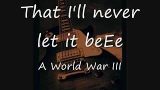 Jonas Brothers World War III Lyrics Thumbnail