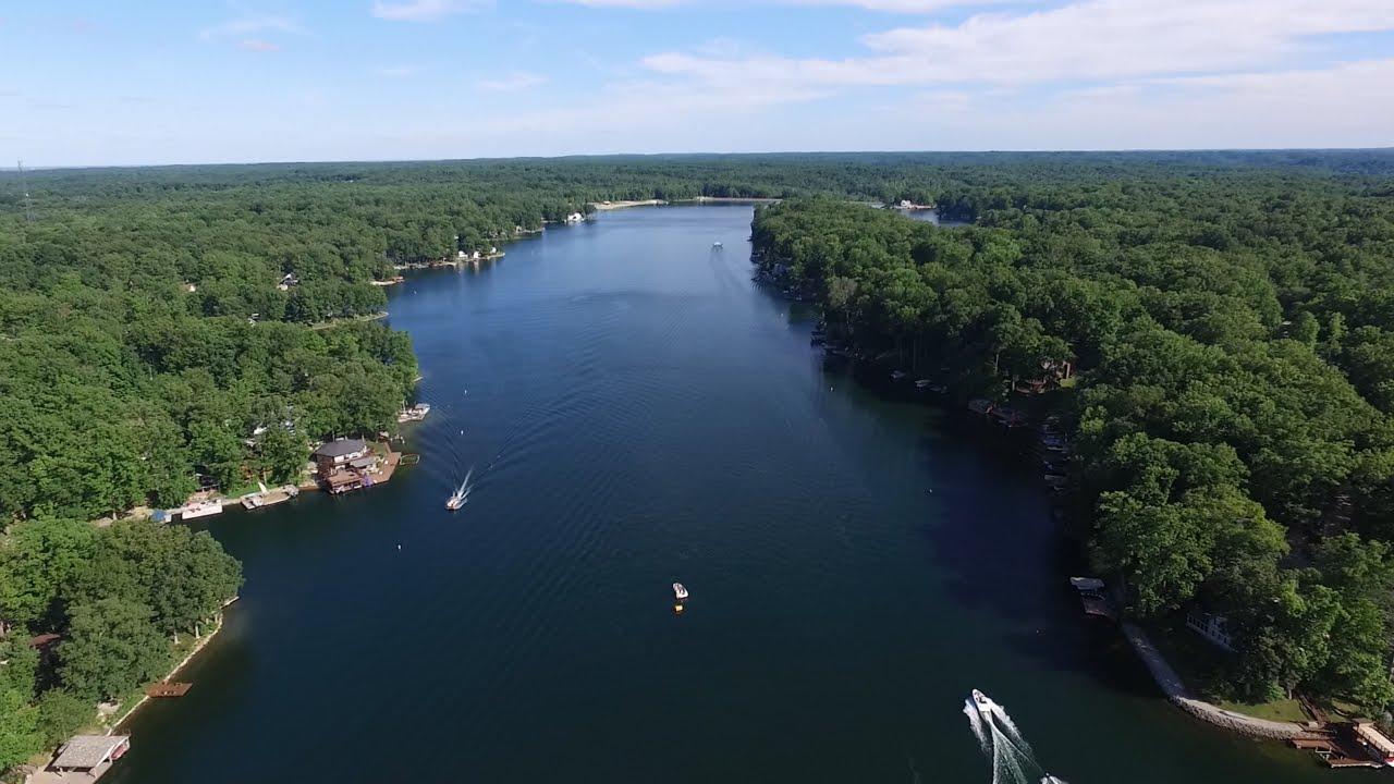 Best Dji Drone >> DJI Drone Flight over Sweetwater Lake - YouTube