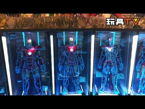 TOYSTV S4 EP13 P4「爆玩具」King Art 1/9 Iron Man Hall of Armor 7連