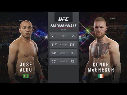 EA SPORTS UFC 2 - UFC 194: José Aldo vs. Conor McGregor Gameplay [1080p HD]