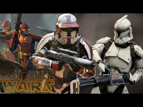 The Complete History Of The Old Republic Troopers - Star Wars Explained