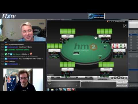PLO poker coaching session with David (12L1) #2