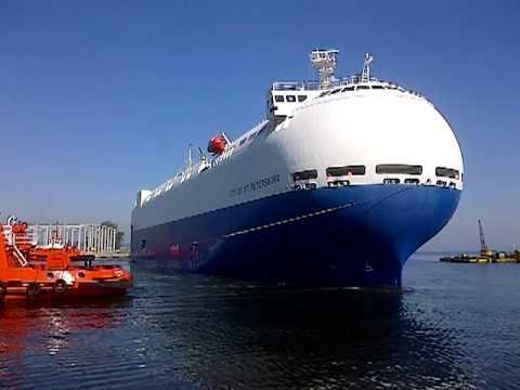 City of St. Petersburg - arrival to Port of Gdańsk 2/3