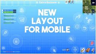 My New Fortnite Mobile HUD!! (Free Copy)