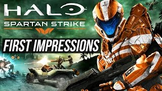 Halo Spartan Strike First Impression Gameplay / Steam Version / Fun & Easy Halo Game on PC?