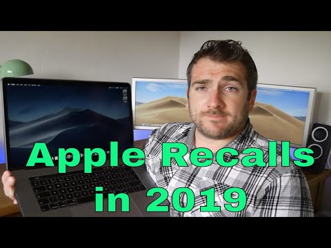 Apple Recall 2019 Mac, Macbook Pro, iMac, iPhone & iPad