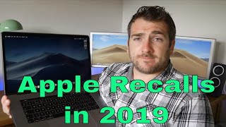 Apple Recall 2019 - Mac, Macbook Pro, iMac, iPhone & iPad