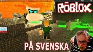 ROBLOX-Capitão Kalsong (em Sueco) pare o professor Poopypants Adventure Obby