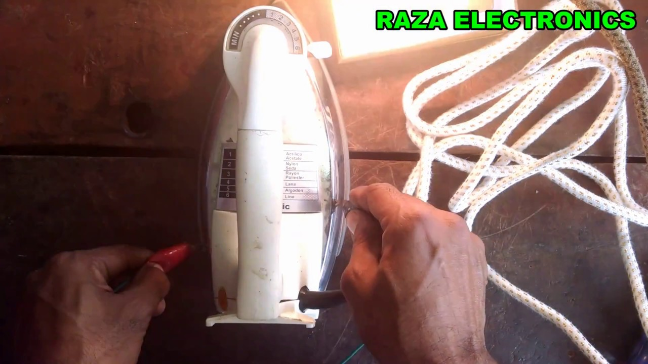How To Repair Electric Iron Wire Complete Guid In Urdu
