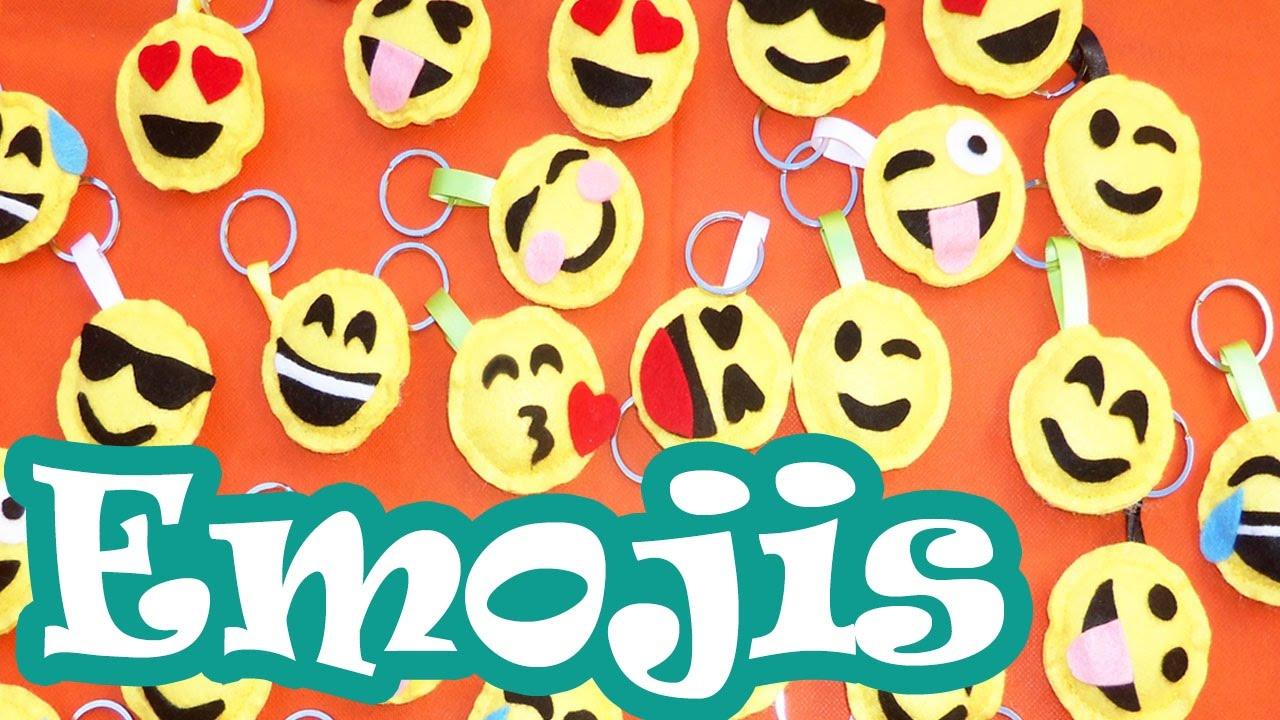 Llaveros de emojis manualidades para regalar youtube - Manualidades de llaveros ...