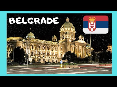 Beautiful and historic Belgrade, Serbia