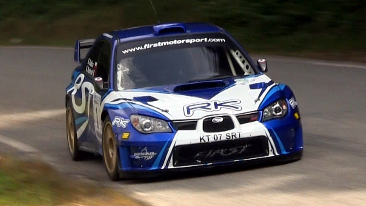 Robert Kubica Subaru Impreza S12 Wrc 3 176 Ronde Gomitolo