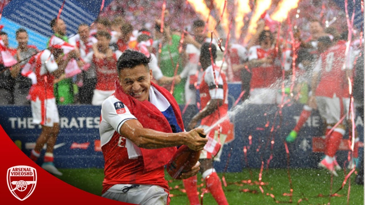 Arsenal - FA Cup Final 2017 - The Champions - YouTube