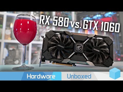 Radeon RX 580 vs  GeForce GTX 1060, FineWine Strikes Once