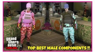 GTA 5 Online Top Best Merge Male Outfits Components Transfer Glitch