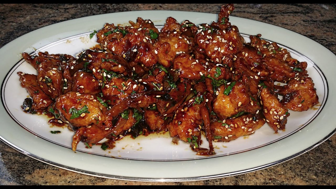 hot and spicy chicken chinese takeout