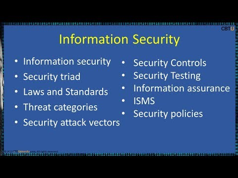1.4 Information Security