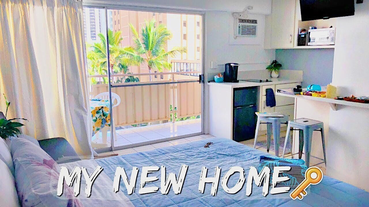 MY NEW APARTMENT IN HAWAII | I Moved! - YouTube