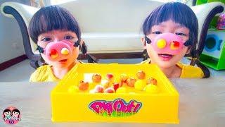 หนูยิ้มหนูแย้ม   หมูกินผลไม้ Pig Out Game Toy