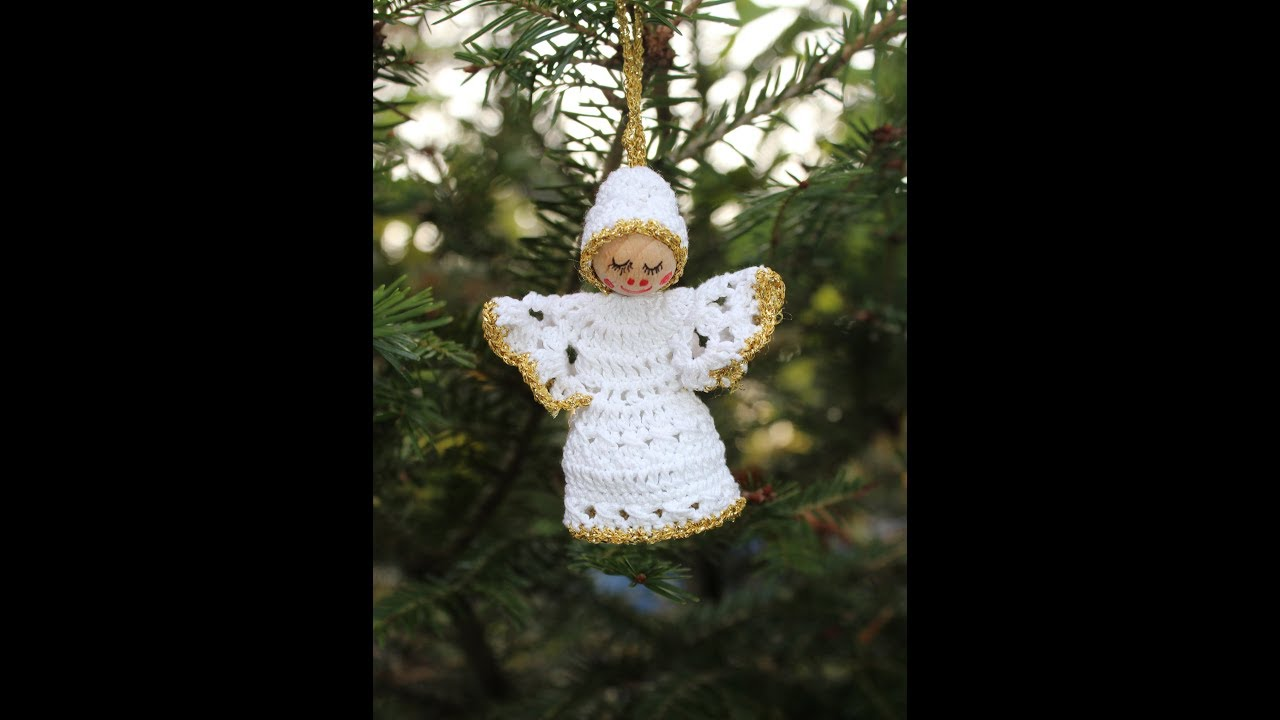 Kleines Weihnachtsengerl Teil 1 Deko Für Weihnachten Engel