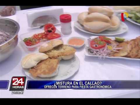 Callao ofrece área para realizar Feria Gastronómica Mistura