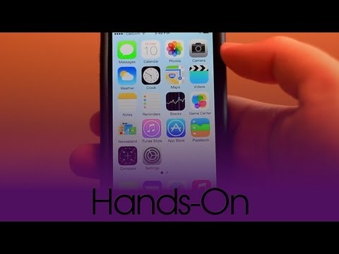 Hands-on with iOS 7 [Video]