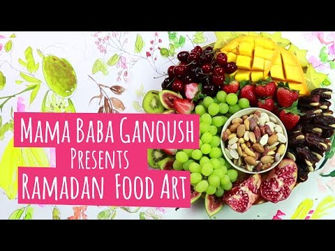 MBG - This is what happens when food meets art in Qatar!