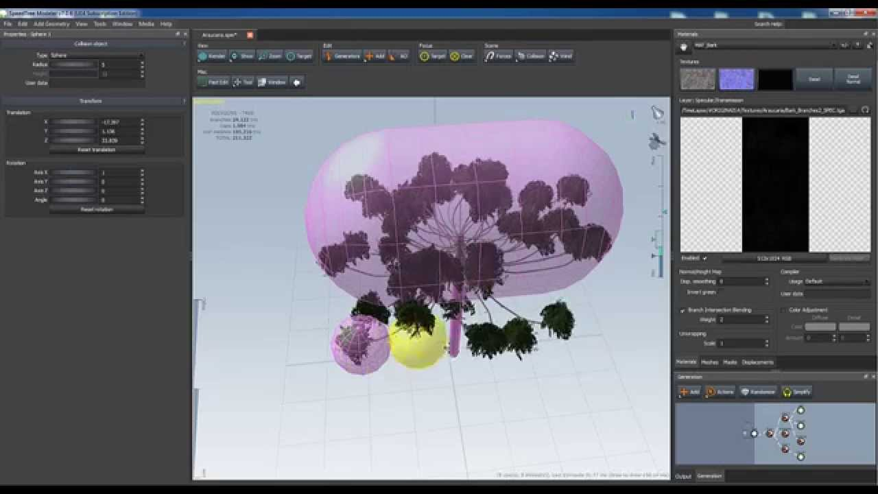 SpeedTree to Unreal 4 (Part 11) - Creating LOD & Collisions for UE4