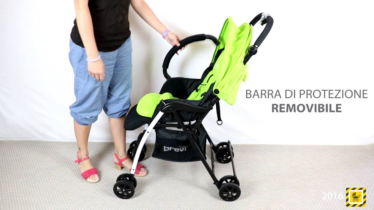 Passeggino Brevi Mini Large - YouTube 6ed97db866