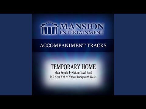 Temporary Home (Vocal Demonstration)