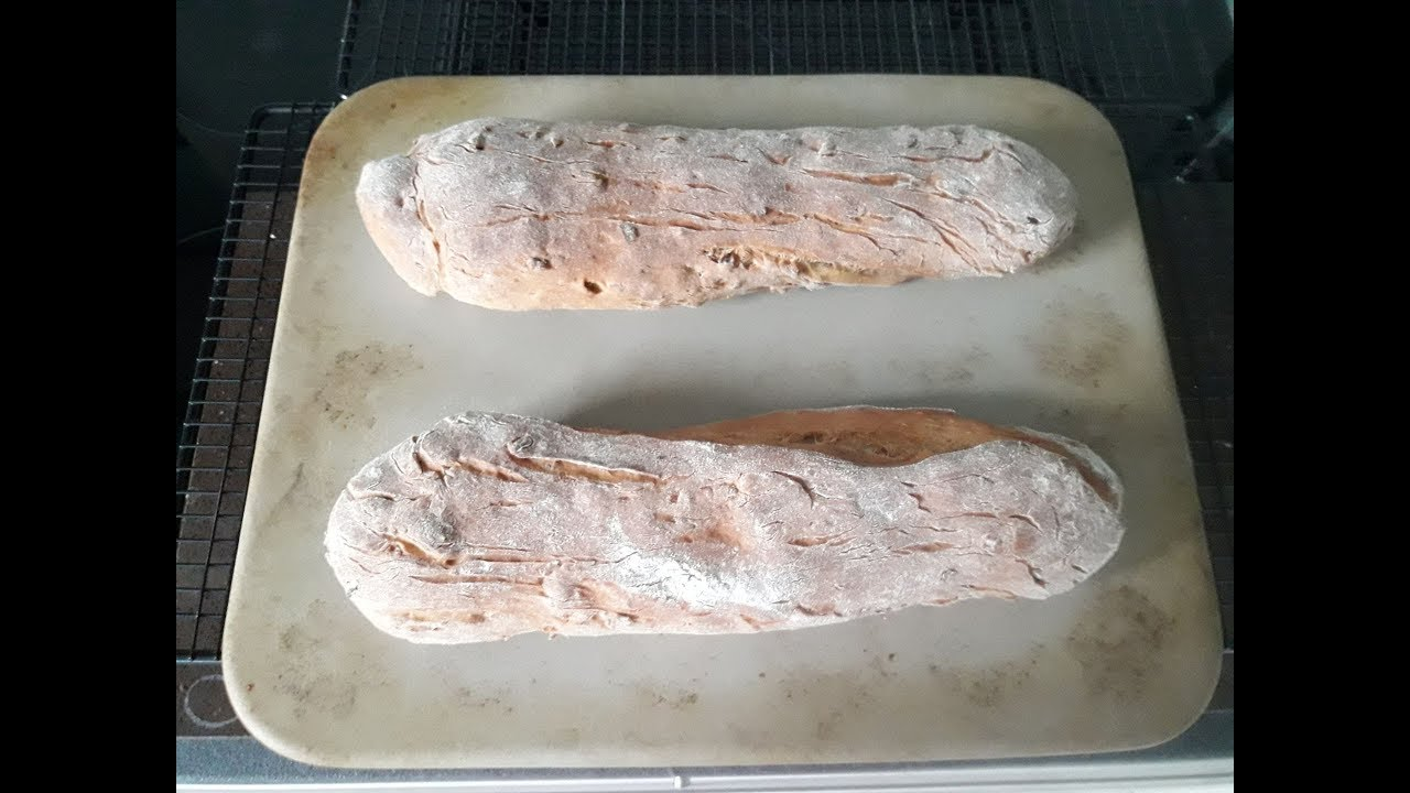 Zwiebel schinken baguette mit pampered chef kenwood for Cooking chef vs thermomix