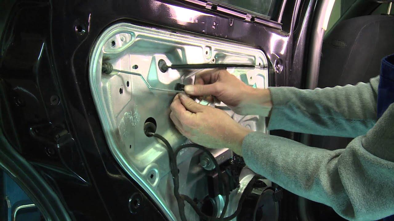 VW Passat,Golf. Замена заднего стеклоподъемника. Часть1 Разбор .