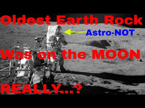 "NASA STATES- ""Scientists may have discovered the oldest Earth rock ever—on the Moon"""
