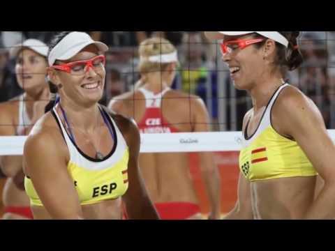 Voleibol De Playa Femenino Juegos Olimpicos 2016 Fotos Sexys De Las Jugadoras