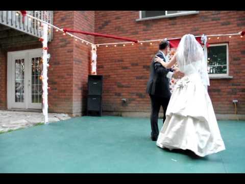 First Wedding Dance - Pam and Sean -