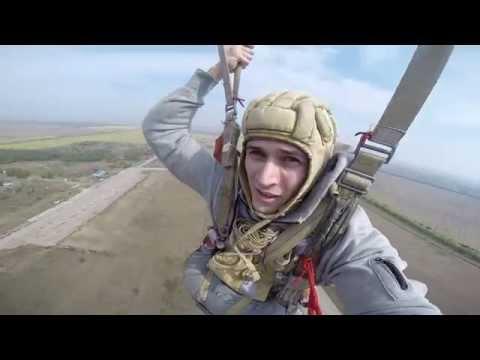 Мой прыжок с парашютом 800 м