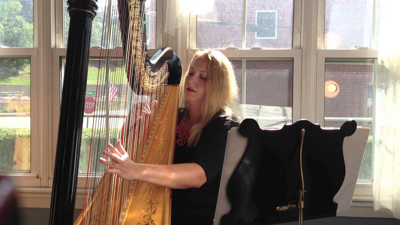 Mendelssohn Wedding March On Harp HD