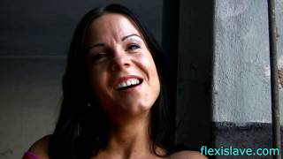 BDSM model Alex Zothberg interviewed in old factory