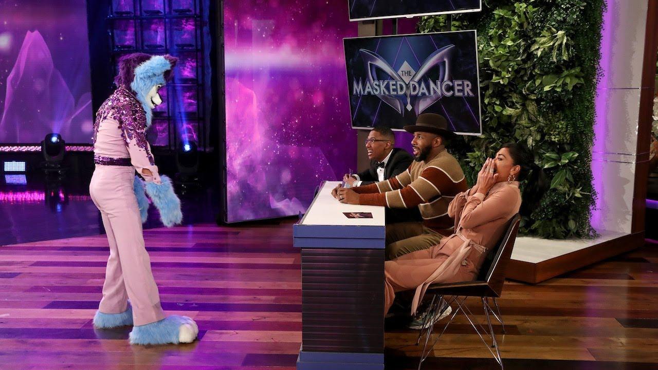 Nicole Scherzinger Nick Cannon Guess The Masked Dancer