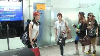 "[SSTV] 티아라엔포 미국 출국, 개성 넘치는 공항패션 ""잘 다녀올게요"" Mp3"